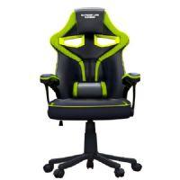 Cadeira GAMER ELG Raptor com Apoio Lombar Preto/Verde CH04GE