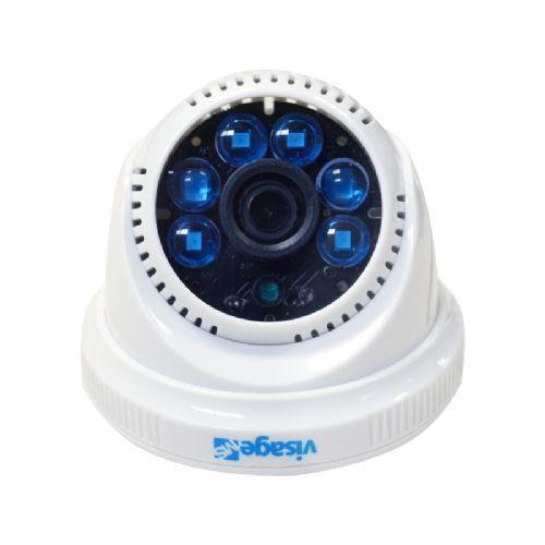 Câmera CCD Dome Visage MS 420 linhas IR10/15M 3.6mm Branca Sony 1/3 - VMS42036DMB