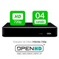 HVR 04 Canais OPEN HD - GIGA (GS04OPENHD)