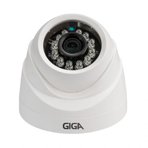 Câmera AHD 720P 3.2mm IR20 Dome - GIGA (GSHDP20DB)