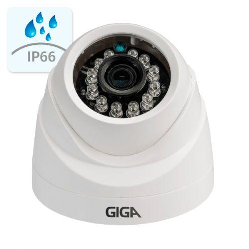 Câmera AHD 720P 2.8mm IR30 Dome - GIGA (GSHDP30DB28)