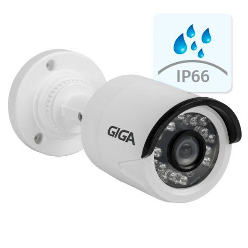 Câmera IP 720P 2.8mm IR20 Bullet - GIGA (GSIP1M20TB28)