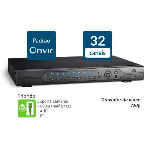 HVR 32 Canais AHD 720P - GIGA (GS32HD)