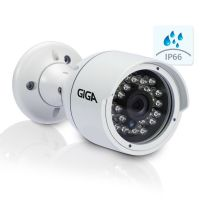 Câmera OpenHD 720P 2.8mm IR30 Bullet (CVBS / AHD / HDTVI / HDCVI) - GIGA (GSOHDP30TB28)