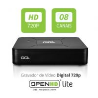 DVR 08 Canais OPEN HD Lite -  GIGA (GS0083)