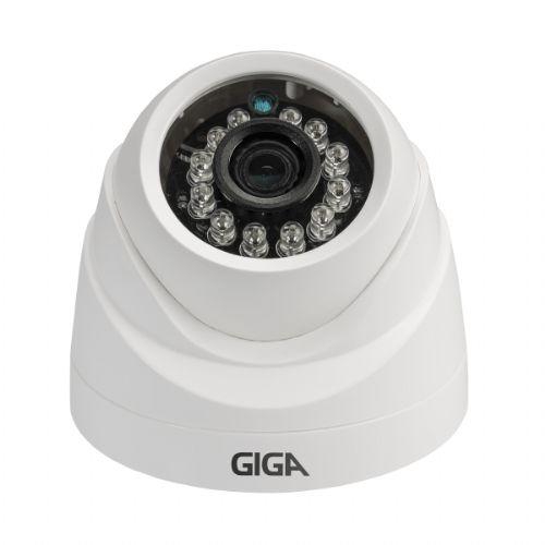 Câmera OpenHD 1080P 3.6mm IR20 Exmor Sony - Dome (CVBS / AHD / HDTVI / HDCVI) - GIGA (GS0026)
