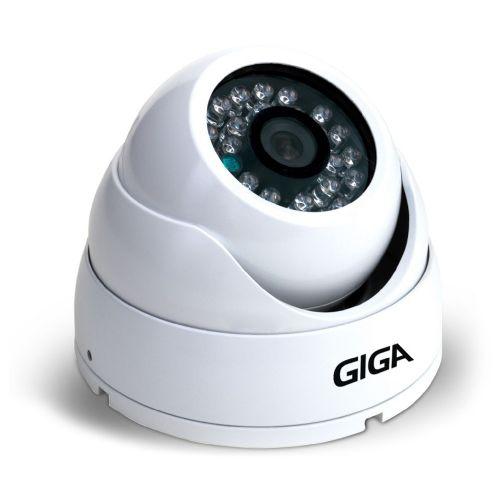 Câmera OpenHD 1080P 2.8mm IR30 Dome SONY Starvis (CVBS / AHD / HDTVI / HDCVI) - GIGA (GS0051)