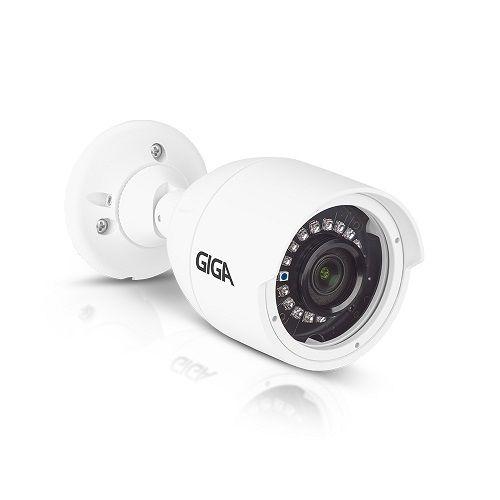 Câmera Bullet IR30 3.6mm 1080P Série STARVIS Metal - GIGA Security (GS0057)
