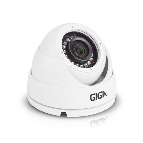 Câmera Dome IR20 2.6mm HD 720p Metal Série Orion - Giga Security (GS0021)