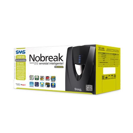 Nobreak SMS Manager III Senoidal NG 1400va Bivolt ( PN 27571 )