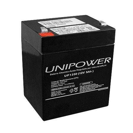 Bateria Interna Nobreak 12v / 5ah Unipower UP1250
