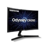 Monitor GAMER 24 Samsung LC24RG50FQLMZD Curvo Full HD Freesync 144Hz 4ms Odyssey