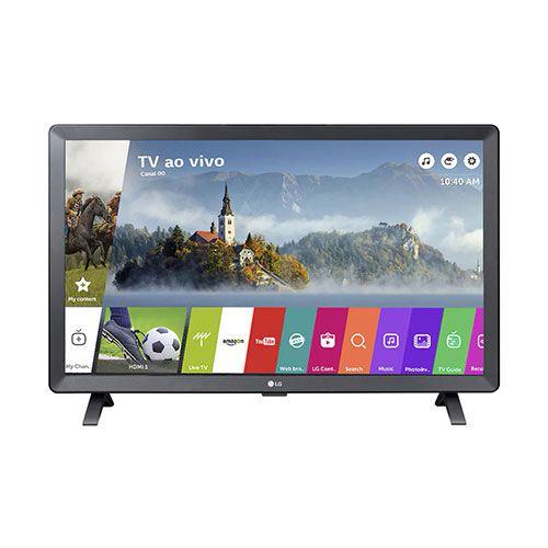 Smart TV Monitor LED 24 LG com WI-FI webOS 3.5 24TL520S-PS