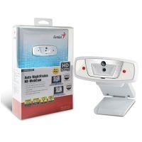 Webcam Genius Lightcam 1020 HD 720p com iluminação noturna e microfone