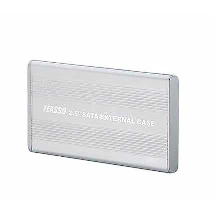 Case Externo USB 2.0 Sata 2.5 - Hard Disk de Notebook - Feasso  FAHD-01