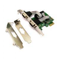 Placa PCI-e com 2 portas Seriais Stock 803103