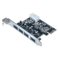 Placa PCI-E X1 com 4 portas USB 3.0 - DP-43