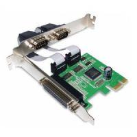 Placa PCI-Express x1 com 2 Portas Seriais + 1 Porta Paralela GV PCI567