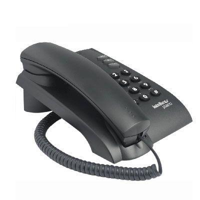Telefone com Fio Pleno Preto 3 Volume - Intebras