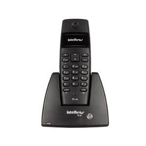 Telefone sem Fio Preto 1.9GHZ - Intelbras