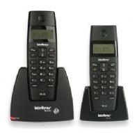 Telefone sem fio com identificador + Ramal Intelbras TS 40 C - Preto