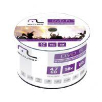Mídia DVD R Multilaser 4.7GB / 120 minutos 16x Shrink - 50 unidades (DV060)