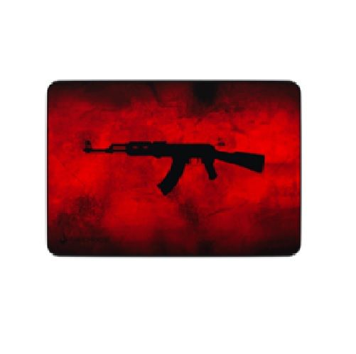 Base para Mouse GAMER AK47 RED MEDIO RIsemode
