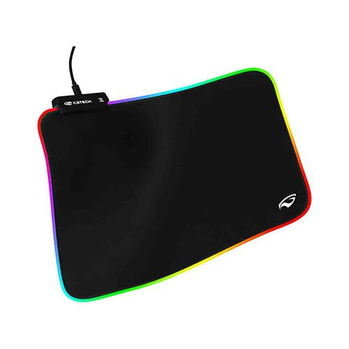 Mouse Pad Gamer RGB C3Tech MP-G2100BK Preto