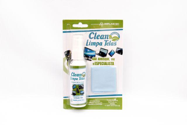 Limpa Telas Implastec 60ML + Microfibra