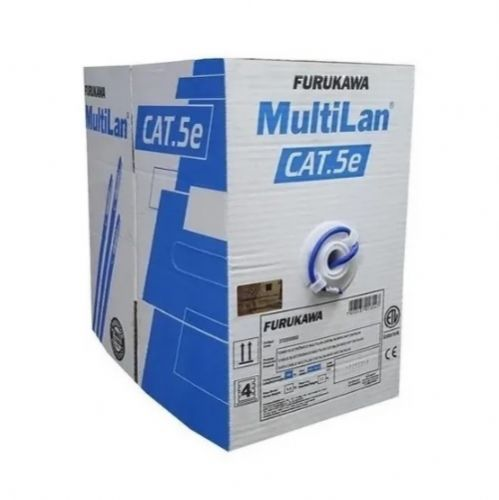 Cabo Lan MULTILAN CAT-5e CMX caixa com 305m Azul Furukawa