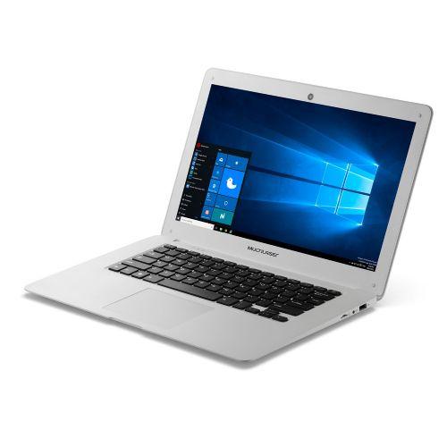 Notebook Multilaser legacy Could PC102 Branco (Intel Atom / 2G RAM / Capacidade 32GB / Tela 14 / Windows 10)