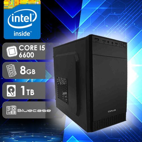 NFX PC I5 6600 - 281T ( CORE I5 6600 / HD 1TB / 8GB RAM / MB BLUECASE )