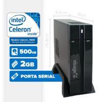 VISAGE PC BLANC J1800 - 125 1S PDV (CELERON J1800 / 2GB RAM / HD 500GB / SERIAL / LINUX)