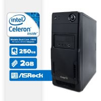 VISAGE PC BLANC D1800 - 222 (DUAL CORE J1800 / 2GB RAM / HD 250GB / LINUX)