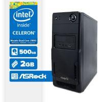 VISAGE PC BLANC D1800 - 225 (CELERON J1800 / 2GB RAM / HD 500GB / LINUX)