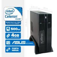 VISAGE PC BLANC J1800 - 145A 1S PDV (DUAL CORE J1800 / 4GB RAM / HD 500GB / SERIAL / HDMI / LINUX)