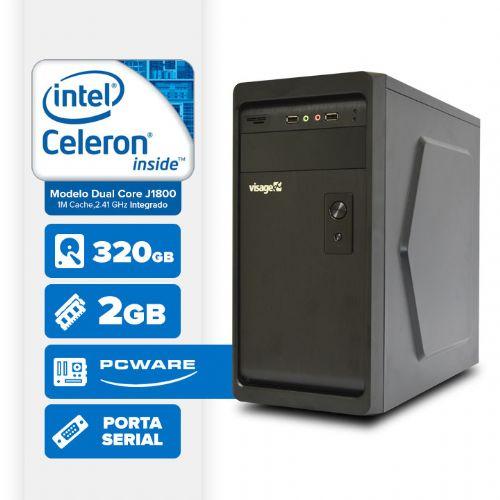 VISAGE PC BLANC IPX1800 - 223 (DUAL CORE J1800 / 2GB RAM / HD 320GB / HDMI / SERIAL / LINUX)