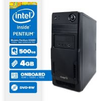 VISAGE PC BLEU G3250 - 245CD ( Pentium G3250 / 4GB / 500GB / DVD-RW / LINUX )