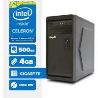 VISAGE PC BLEU G1820 - 245GD ( Celeron G1820 / 4GB / 500GB / MB GIGABYTE / DVD-RW / LINUX )