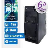 VISAGE PC BLEU I5 6400 - 281TGD (CORE I5 6400 / 8GB RAM / HD 1TB / DVD-RW / MB GIGABYTE / LINUX)