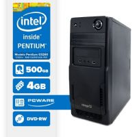 VISAGE PC BLEU G3260 - 245PD ( Pentium G3260 / 4GB / 500GB / MB PCWARE / DVD-RW / LINUX )