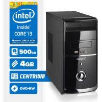 Visage PC BLEU I3 4170 - 245CD ( Core I3 4170 / 4GB / 500GB / DVD-RW / LINUX )