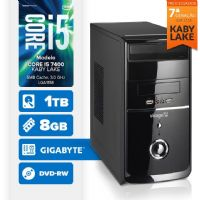 VISAGE PC BLEU I5 7400 - 281TGD (CORE I5 7400 / 8GB RAM / HD 1TB / DVD-RW / MB GIGABYTE / LINUX)