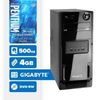 VISAGE PC BLEU G4400 - 445GD ( Pentium G4400 / 4GB / 500GB / DVD-RW / MB GIGABYTE / LINUX )