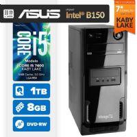 VISAGE PC BLEU I5 7400 - 481TABD (CORE I5 7400 / 8GB RAM / HD 1TB / MB ASUS Chipset Intel® B150 / DVD-RW / LINUX)