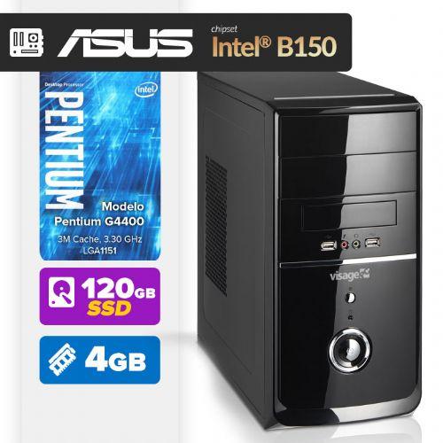 VISAGE PC BLEU G4400 - 241AB ( Pentium G4400 / 4GB / 120GB SSD / MB ASUS Chipset Intel® B150 / LINUX )