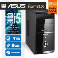VISAGE PC BLEU I5 7400 - 281TABD (CORE I5 7400 / 8GB RAM / HD 1TB / MB ASUS Chipset Intel® B150 / DVD-RW / LINUX)