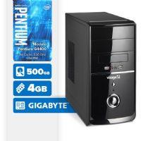 VISAGE PC BLEU G4400 - 245G ( Pentium G4400 / 4GB / 500GB / MB GIGABYTE / LINUX )