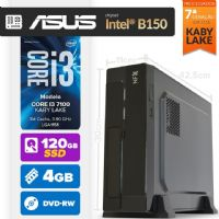 VISAGE PC BLEU I3 7100 - 141ABD SLIM SSD (CORE I3 7100 / 4GB RAM / HD 120 GB SSD / MB ASUS Chipset Intel® B150 / DVD-RW / LINUX)