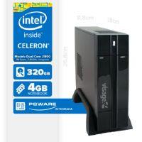 VISAGE PC BLANC IPX1800 - 143 PDV (DUAL CORE J1800 / 4GB RAM / HD 320GB / HDMI / LINUX)